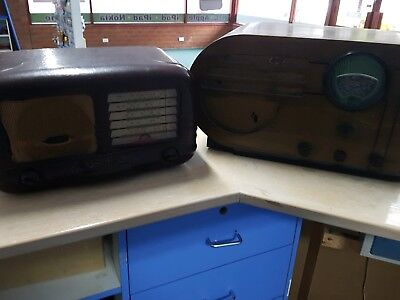 Antique radio Philco and Astor
