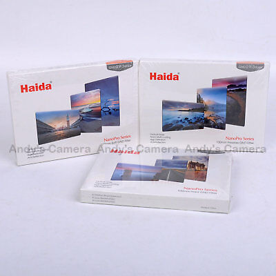 Haida 100x150mm Filter Kit, Soft + Hard + Reverse, 3 Stop Graduated ND Filter