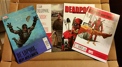 Deadpool Merc with a Mouth #9 #10 #11 #12 1st Print Reader Lot 7.5-9.4 Nevermind