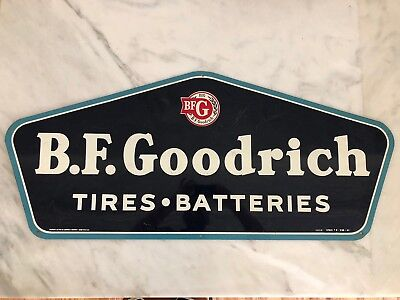 Rare Vintage Original Tin Sign Bf Goodrich Tires Automotive