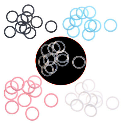 10x Nipple Buckle Baby Infant Pacifier Ring Newborn Baby Silicone Nipple Ring SR