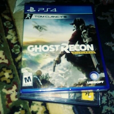 Tom Clancy's Ghost Recon: Wildlands PS4 Sony BRAND NEW FACTORY SEALED