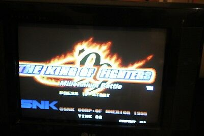 The King of Fighters 99  Neo Geo Mvs Snk Authentic Iori Kyo Athena