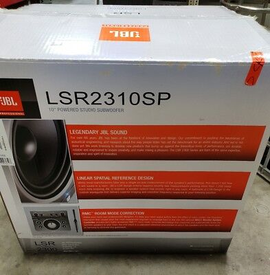 "JBL LSR2310SP 10"" Powered Studio Subwoofer"