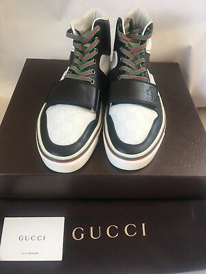 1481bf0c3b2 GUCCI HIGH TOP Fashion Sneakers Mens size 9 -  270.00