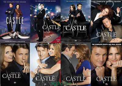 DVD Castle: (DVD 38-Disc Bundle Set) The Complete Series Seasons 1-8 New seal