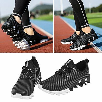 Men's Lightweight Breathable Running Tennis Sneakers Casual Walking Shoes Black