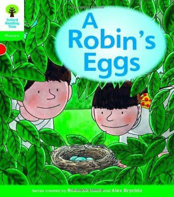 Oxford Reading Tree: Level 2: Floppy's Phonics Fiction: A Robin's Eggs New Paper