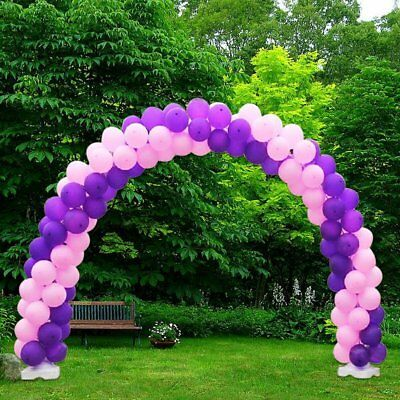 Large Balloon Arch Column Stand Frame Kit for Birthday Wedding Party Decore HM