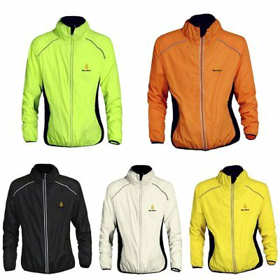 WOSAWE Bicycle Clothing Windproof Warm Windbreaker Long Sleeve Cycling Jacket PS