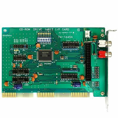 Mitsumi CD-ROM ISA Controller, CD-ROM Drive I/F Card, für 286, 386, 486er