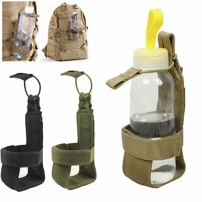 Outdoor Hiking Camping Molle Water Bottle Holder Belt Carrier Pouch Nylon Bag PS