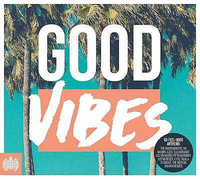 MINISTRY OF SOUND - GOOD VIBES 3CDs (NEW/SEALED) Calvin Harris Sigala