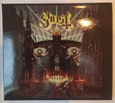 Ghost Meliora-CD DeLuxe Edition US-Import Papa Emeritus Ghoul still sealed!