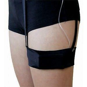 DIABETE-EZY Ezy-Garter-Pump Band in Nude Insulin Pump band- Comfortable discreet