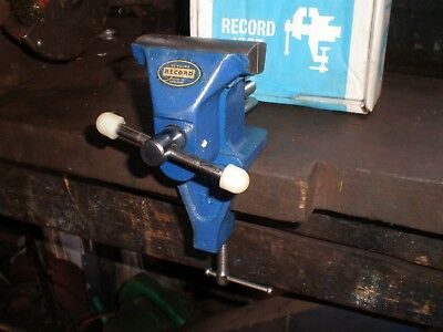 """record No. 70""  British Made Small Bench Vice In Its Original Makers Box"