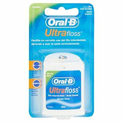 ORAL B FILO ULTRAFLOSS MENTA 25MT (A1x)