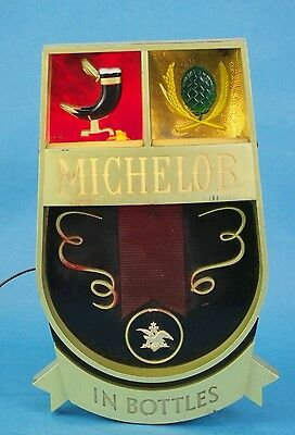 Michelob lighted beer sign