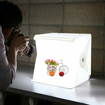 Studio Light Portable Photography Box Photo Mini Led Kit Tent Foldable Cube