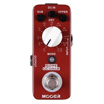Mooer MP01 Pure Octave Guitar Effect Pedal