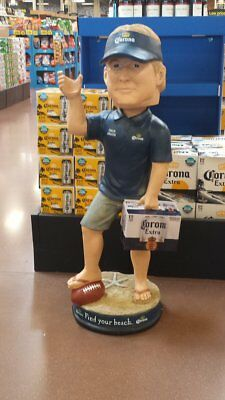 Corona Extra 4 Ft. Tall Coach John Gruden Bubble Head Figural Sign New