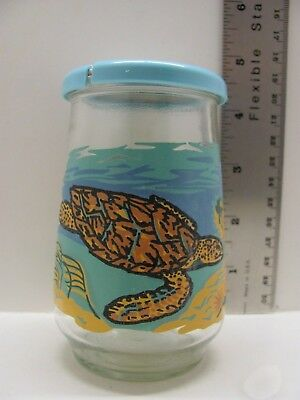 1994 Welch's Jelly Jar Endangered Species Collection #12 Hawksbill Sea Turtle