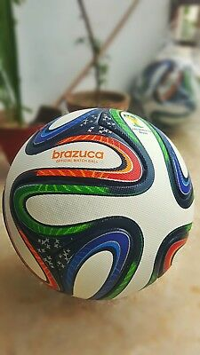 Brazuca Official Soccer Match Ball Fifa World Cup 2014 Size 5 Free Shipping