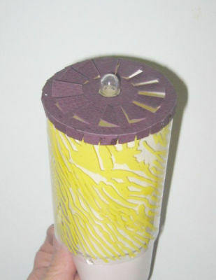 One New Replacement Spinner For Scene in Action Forest Fire Motion Lamp