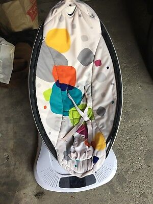 4Moms Mamaroo 4.0 Infant Baby Swing Seat Rocker Multi Plush *Newest Model*