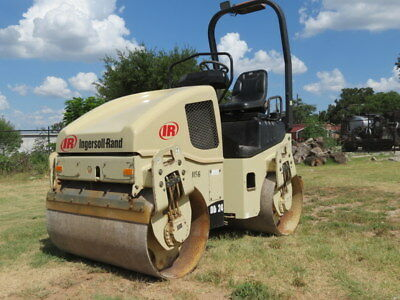 06 Ingersoll Rand Dd24 Compactor Vibratory Roller Smooth Drum Sprayer Dfw Tx
