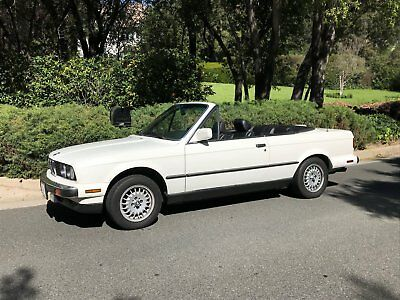 1988 BMW 3-Series convertible 1988 BMW 325i Convertible