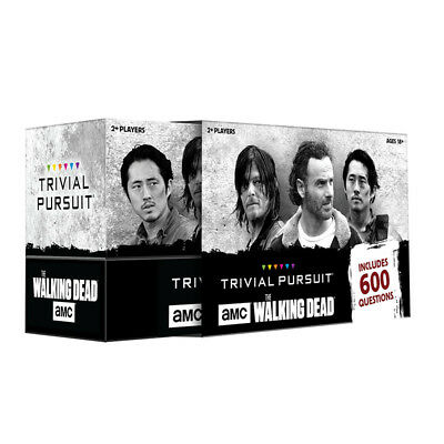 Trivial Pursuit The Walking dead Card Game