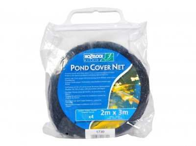 Pond Cover Net 10 Feet x 6.5 Feet, Strong Woven HPDE Pond Netting with Stakes
