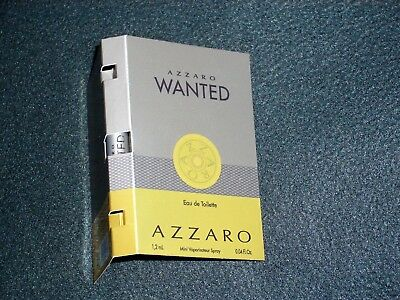 Azzaro Wanted Eau de Toilette 1,2 ml Parfüm Probe NEU OVP