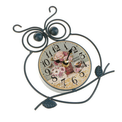 Owl Wall Clock Mute Silent Dial Orologio Kids Room Orologio decorativo