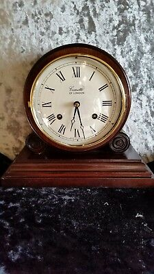 vintage wooden mantle clock comitti of London ! Very low starting price !!