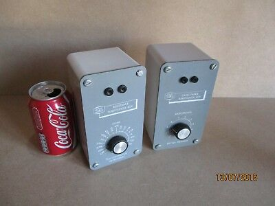 Resistance And Capacitance Substitution Boxes, Vintage Physics By Griffin & Geo