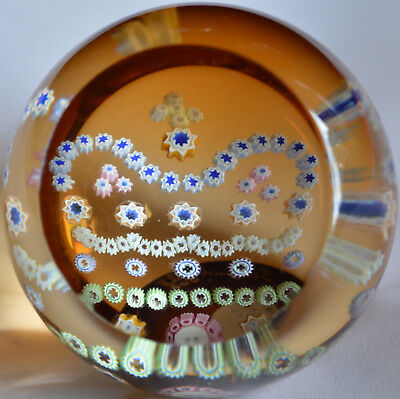 Good Caithness limited edition of 500 paperweight - Golden Jubilee Gold Crown