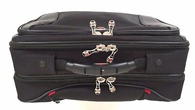 3b9a09182 Wenger Swiss Army Rolling Travel Carry On Laptop Bag Briefcase Luggage  Wheels 17