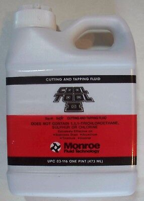 Monroe Cool Tool II Cutting & Tapping Fluid - One Pint - UPC 03-116 - Save on 2+