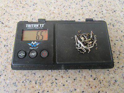 Dental Scrap Gold ALLOY 6.5 grams - mixed pieces Gold Recovery - parts only