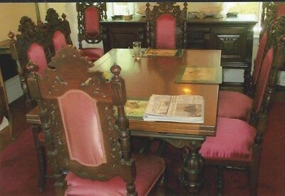 JACOBEAN DINING ROOM SET, EARLY 1900s