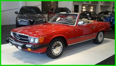 Mercedes-Benz 500-Series 560 SL 1989 560 SL, One Owner, All Service Records, Call Michael West (415) 517-2622
