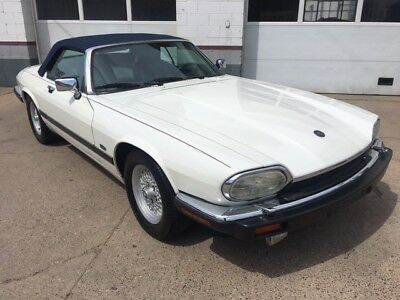 1992 Jaguar XJS XJS V-12 CONVERTIBLE 1992 JAGUAR XJS V-12 CABRIOLET 38,000 ACTUAL CALIFORNIA MILES LIKE SL560 BMW Z3M