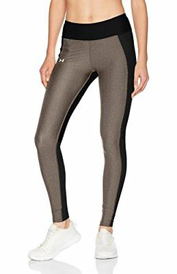 Under Armour Women's Fly by Leggings - Black/Carbon Heather, Small/Medium