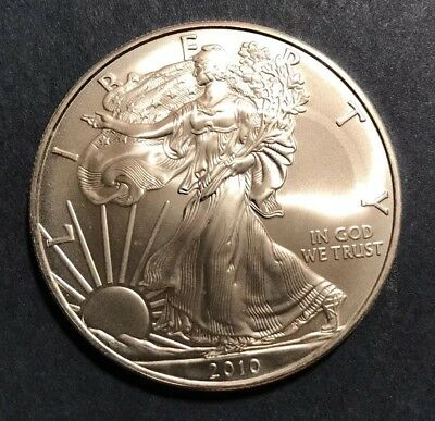 2010 1 Oz Silver American Eagle (Brilliant Uncirculated)