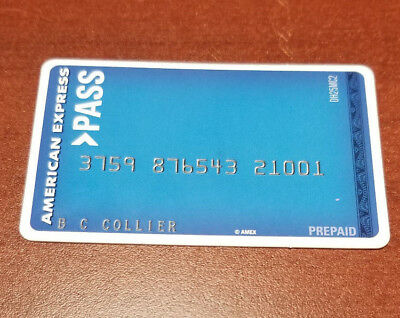 American Express Pass Collectible  Card - Paper