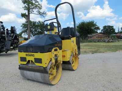 Bomag Bw900 Compactor Vibratory Tandem Roller Smooth Drum Water Sprayer Dfw Tx