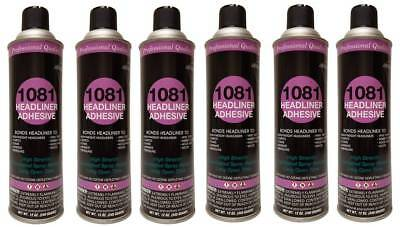 Package of 6 V&S# 1081 Spray Headliner Adhesive