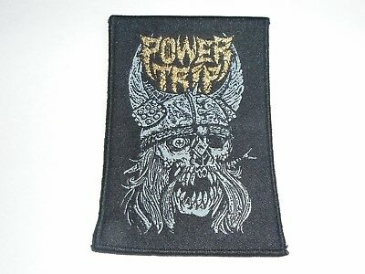 Power Trip Woven Patch